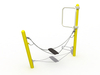 Adventure Park Outdoor Playground Plastic Swing Playset para niños